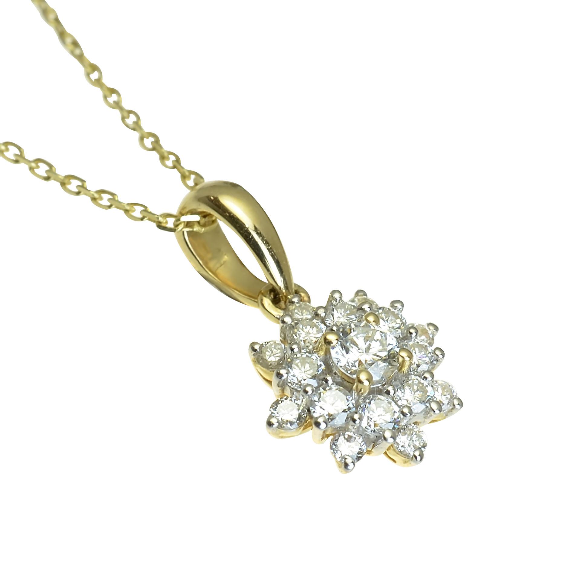 32a0def24 GOLDIE - Prívesky - Zlatý prívesok s diamantmi