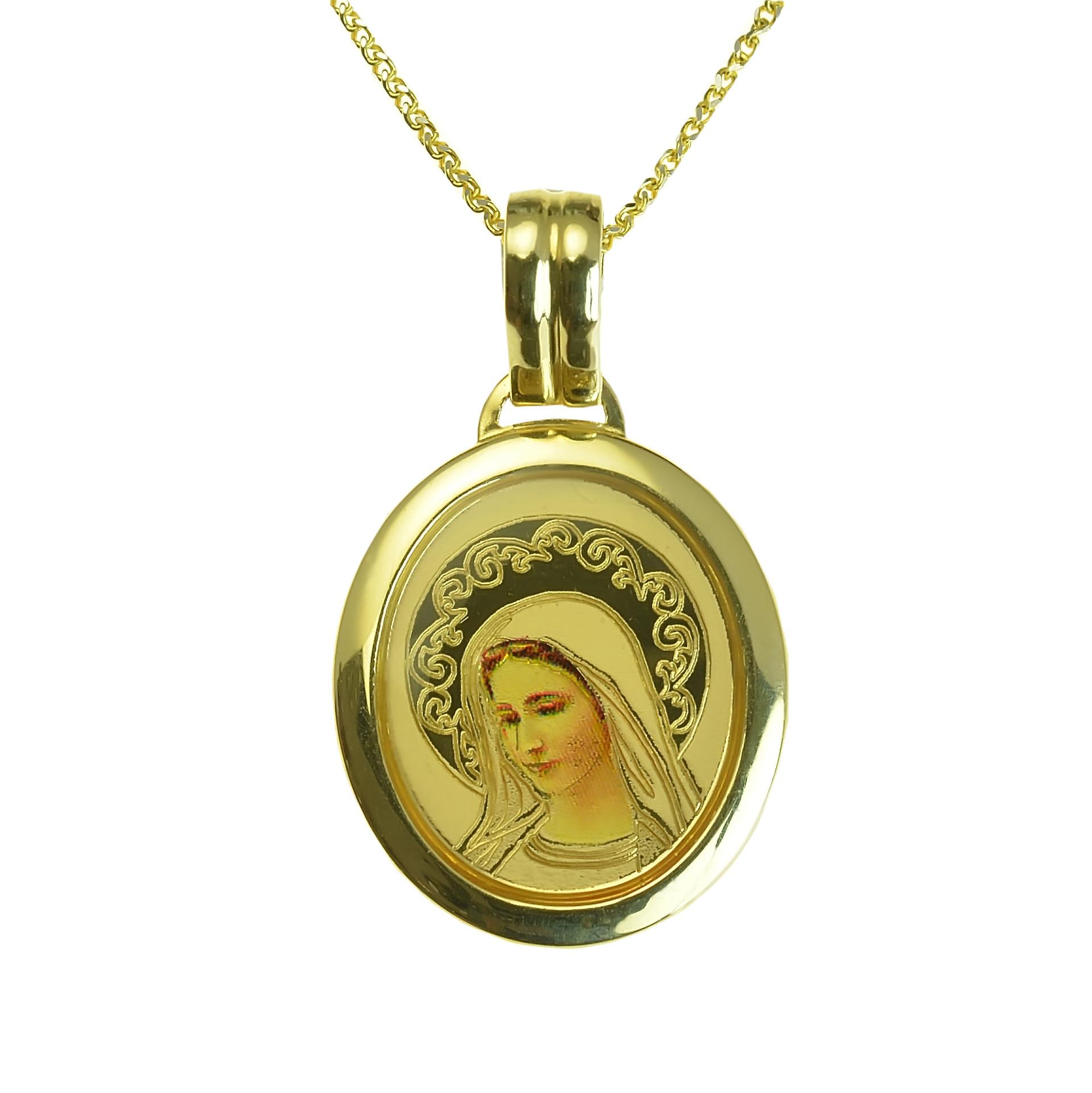 GOLDIE - Prívesky - Zlatý prívesok Panna Mária 91e7d47a83b