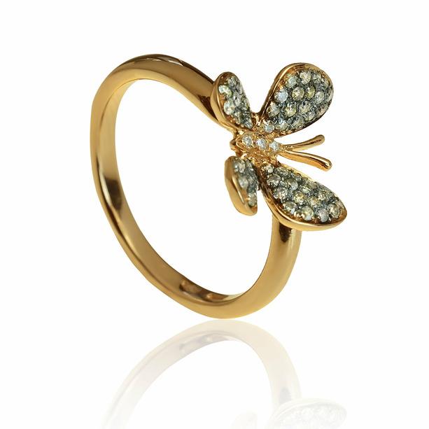 03a6831cb GOLDIE - Prstene - Zlatý prsteň s diamantmi